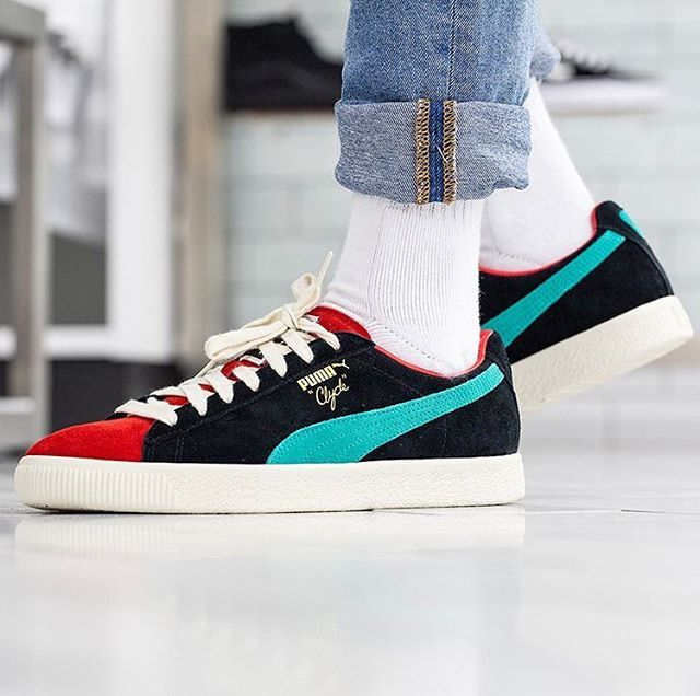 Puma Clyde Designed Straight From The Archive And Inspired By Basketball Legend Walt Clyde Frazier Puma Clyde Puma Sneaker Trend Puma Schuhe Neue Sneaker