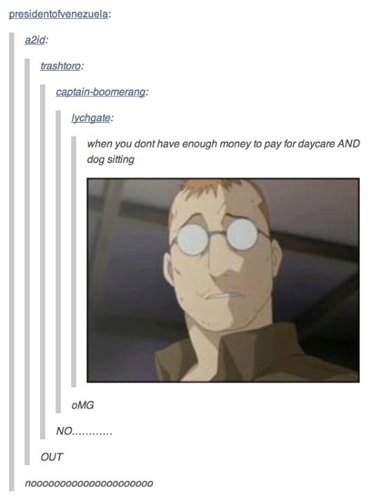 Another Fma Nina Post Tumblr Know Your Meme Fullmetal Alchemist Fullmetal Alchemist Brotherhood Alchemist