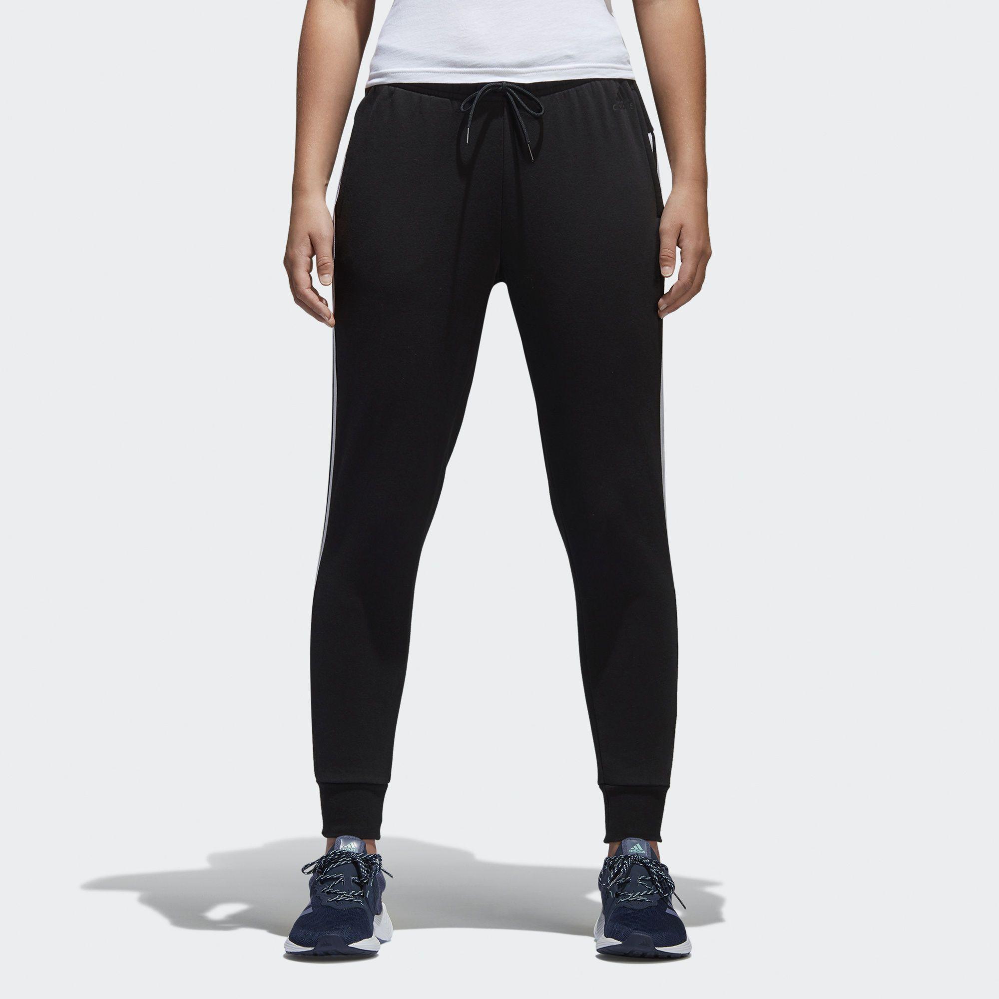 adidas 3 stripe joggers womens
