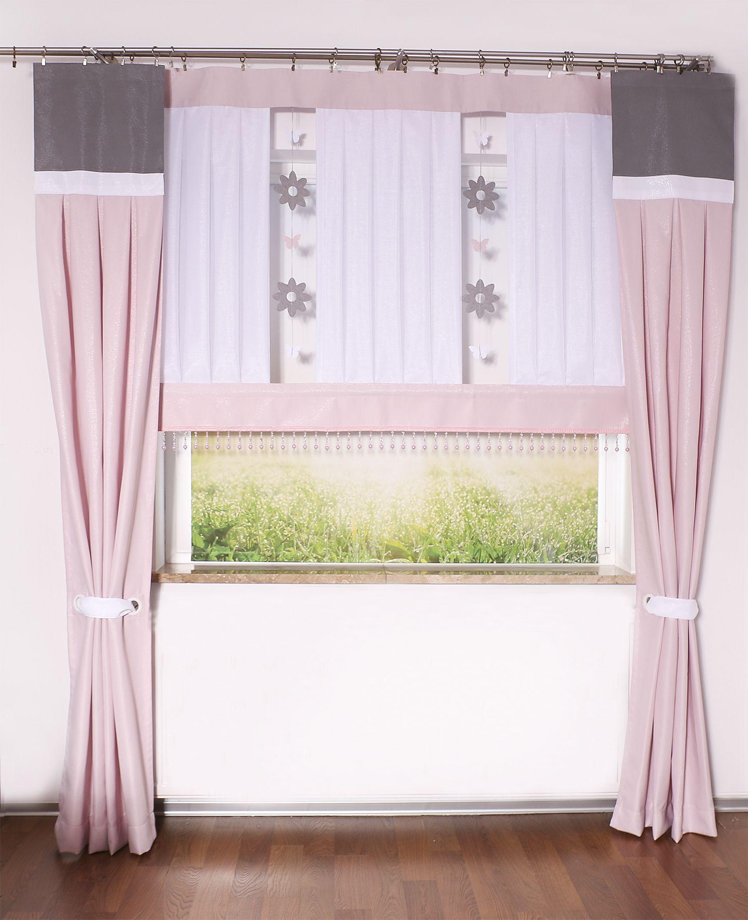 Firana Z Zawieszkami W Kwiatki Home Decor Decor Curtains