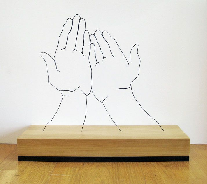 Gavin Worths Wire Sculptures