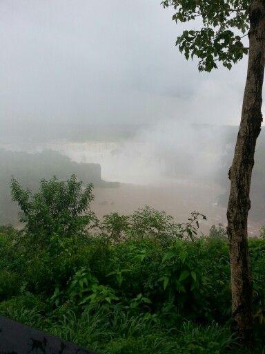Chuva nas Cataratas