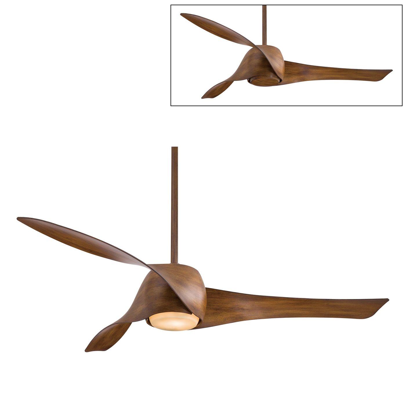 shop minka aire f803 58-in george kovacs® artemis™ ceiling fan at