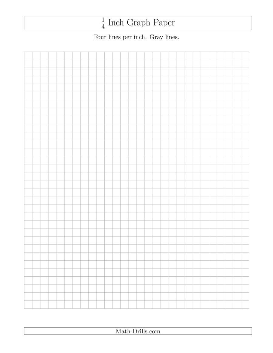 The 1 4 Inch Graph Paper With Gray Lines Gray Math Worksheet Graph Paper Maths Paper Quilting Math [ 1165 x 900 Pixel ]