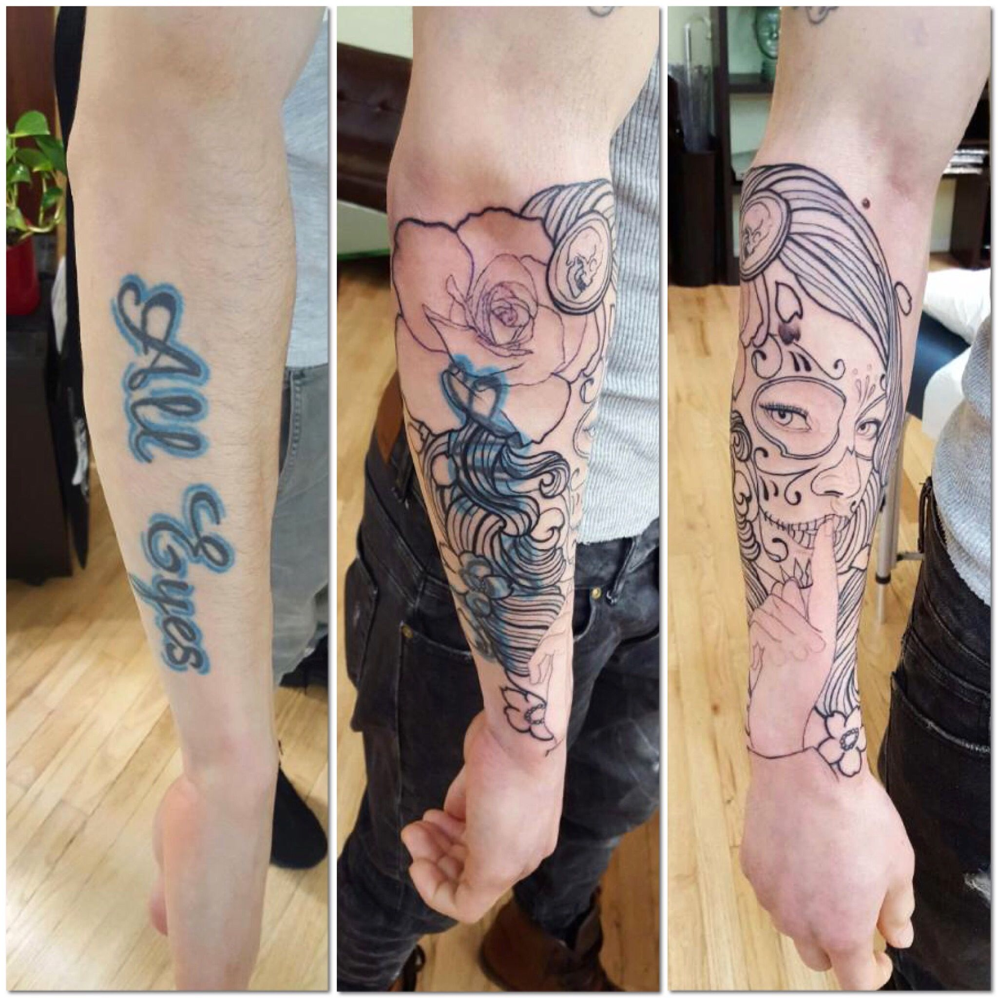 Cover up tattoo ideas for calf by ed cuellar  cover ups  pinterest  watches tattoo and cover up