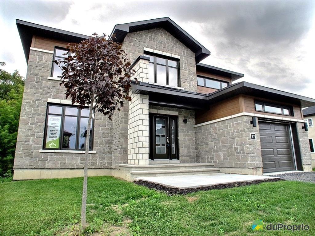 Maison Neuve A Vendre Aylmer 77 Rue Du Jockey Immobilier Quebec Duproprio Maison Maisons Neuves Maison Traditionnelle