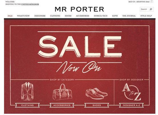 275b7ed4b10 sale illustration Mr Porter | SALE | Mr porter, Fashion Design, Fashion