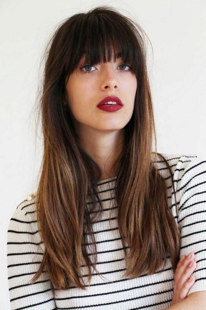 Cortes para cabello lacio para mujeres