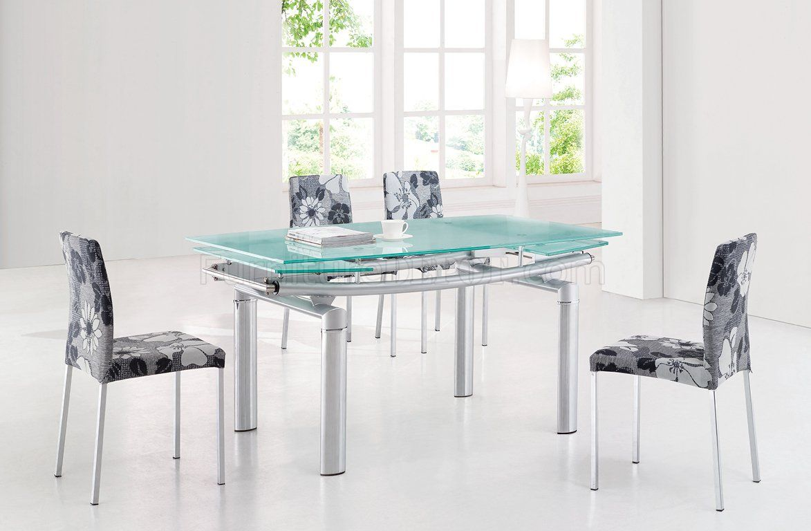 glass table with extension leaves doces abobrinhas pinterest rh pinterest com Glass Dining Room Table Sets Black Glass Dining Room Table