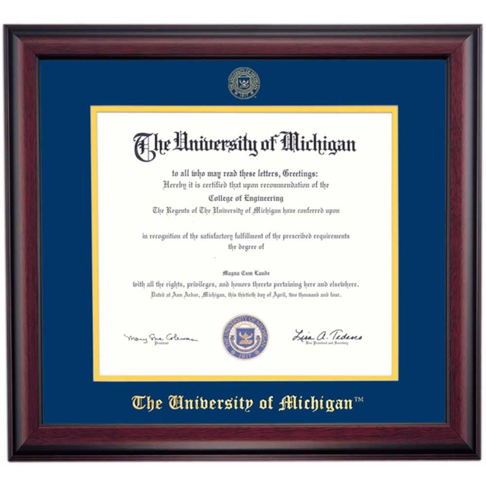 Michigan School Color Traditional for PhD, Dentistry and Law Degrees ...
