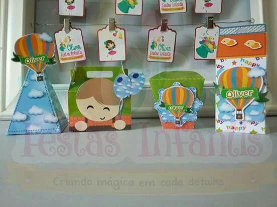 Festa Tema Balão by Oliver Festas Infantis ☺