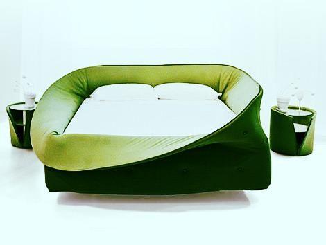 Weird Bed weird bed design #green | future home | pinterest | bed design