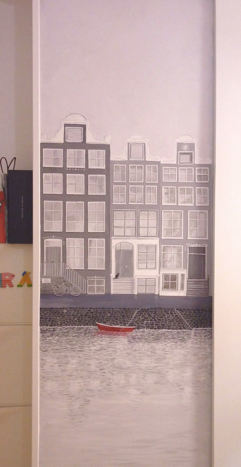 Nueve Pinceladas: Amsterdam