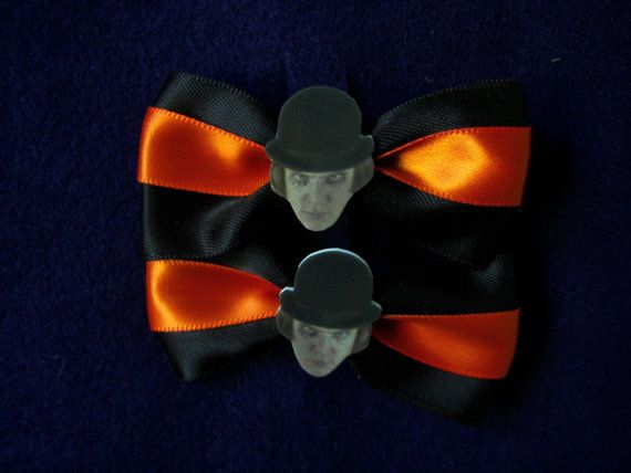 A Clockwork Orange Hair Clips. SOLD, via Etsy.