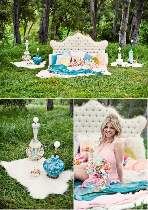 Bridal Shower Photo Shoot by Captured by Aimee + Pow Wow Vintage Rentals | Style Me Pretty