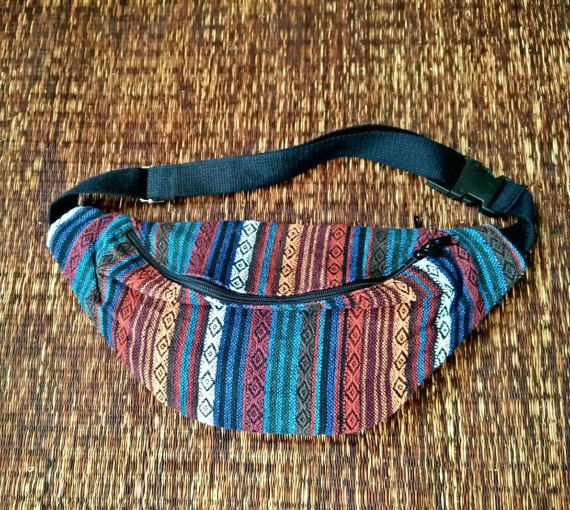 Festival Tribal Fanny pack Boho Styles belt by TribalSpiritShop