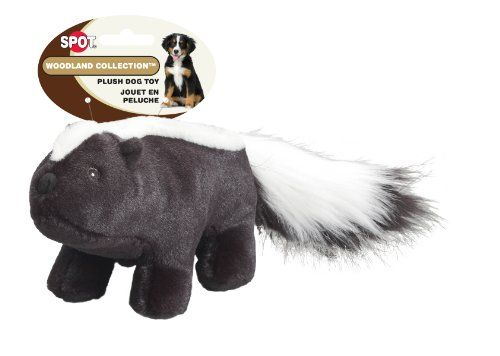 Ethical Pet Woodland Series 145inch Skunk Plush Dog Toy Large