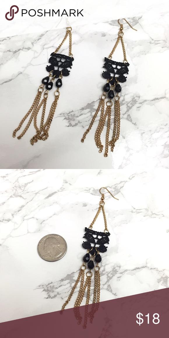 9️⃣Classy Lace Chandelier Earrings New S Rosebud Fashions Jewelry Earrings