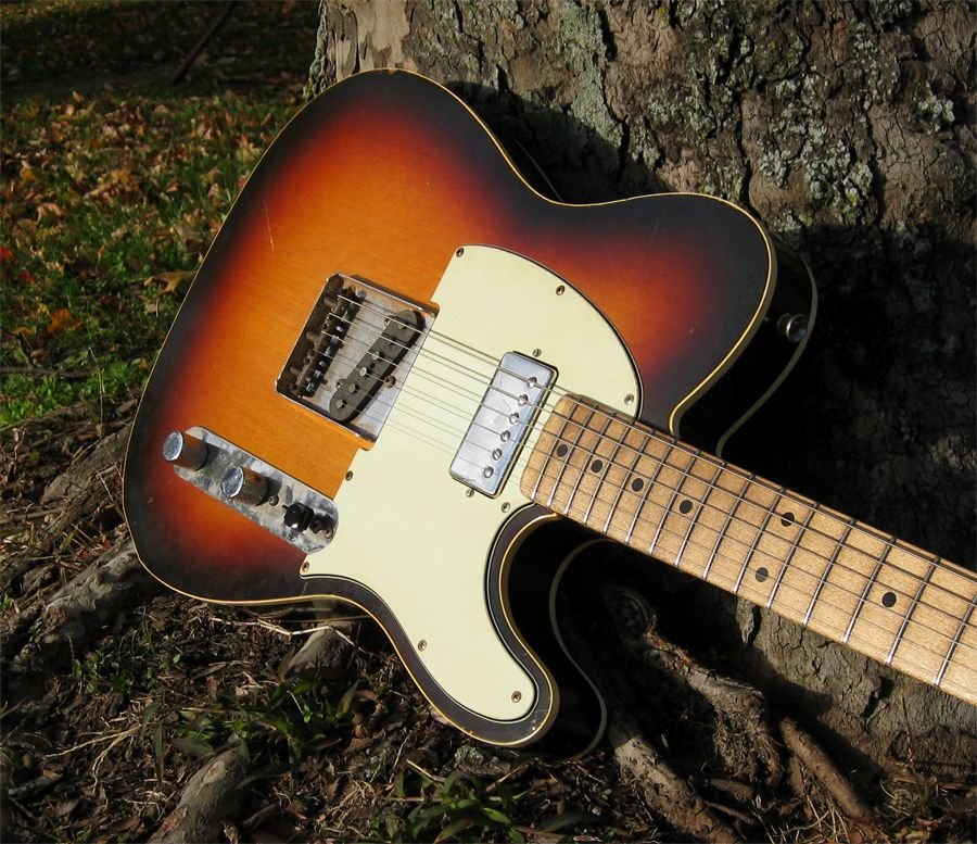 Revelator Guitars Retrosonic Custom Sunburst W Lollar