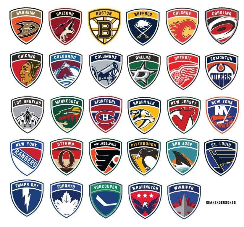 Usa Soccer Leagues Teams Nhl Hockey Teams Hockey Logos Nhl Logos