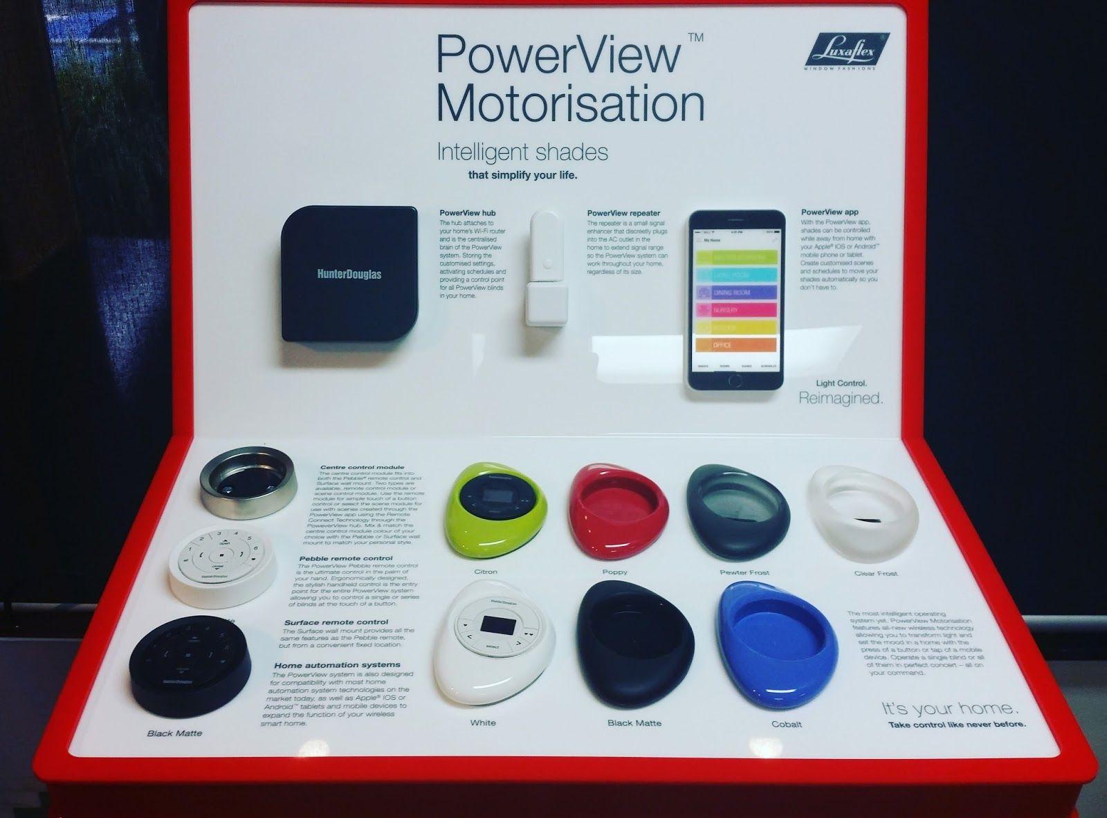 New Luxaflex Powerview Motorisation Operation Luxaflex
