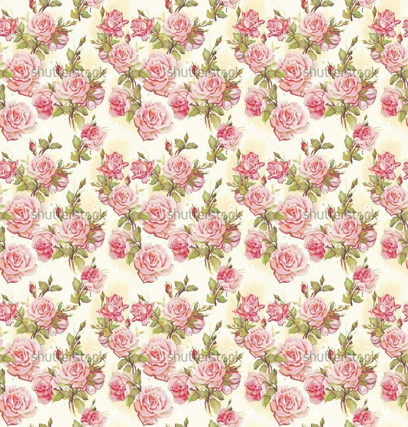 Example Image Of Beautiful Seamless Floral Pattern Flower Vector Illustration Elegance Wallpaper With