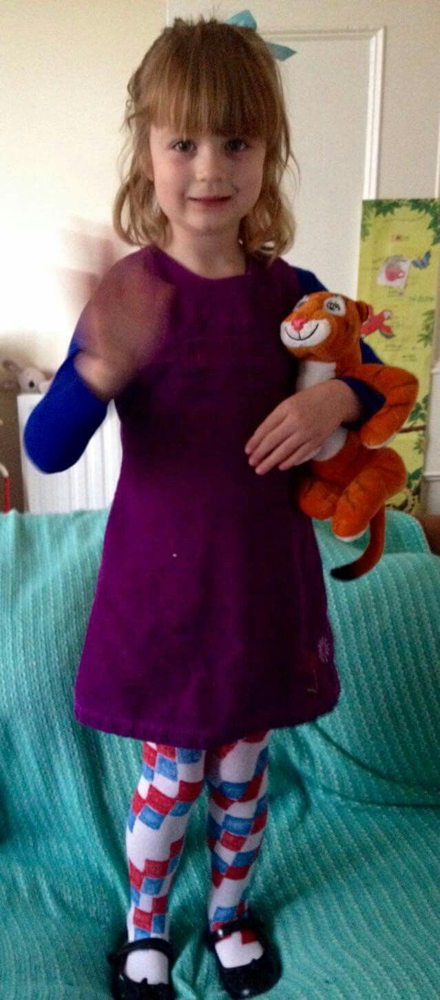 World book day costume sophie the tiger who came to tea thomas homemade costumes world book day costume solutioingenieria Images