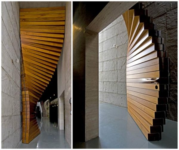 Very Special Door Designed By The Architectural Firm Matharoo Associates,  The Curtain Door Is Most Definitely A Door Like No Other Iu0027ve Seen Design