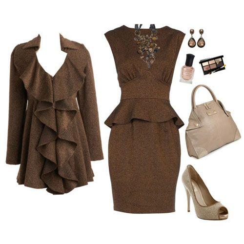 af3322bc13 Vestidos de fiesta color marrón