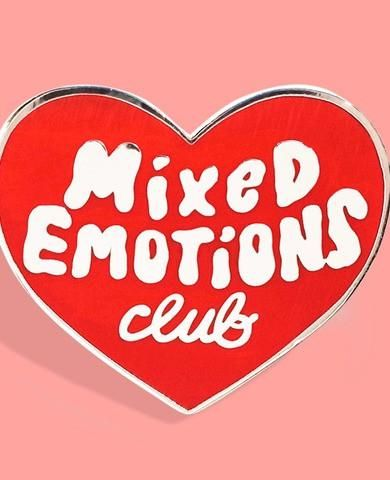 Mixed Emotions Club Pin Mixed Emotions Pin Patches Patches