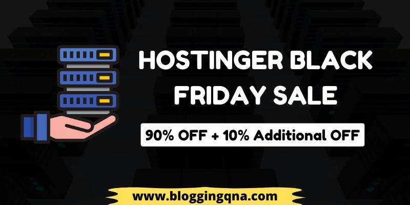 Hostinger Black Friday Deals Via Bloggingqna In 2020 Black Friday Black Friday Deals Black Friday Deals Now
