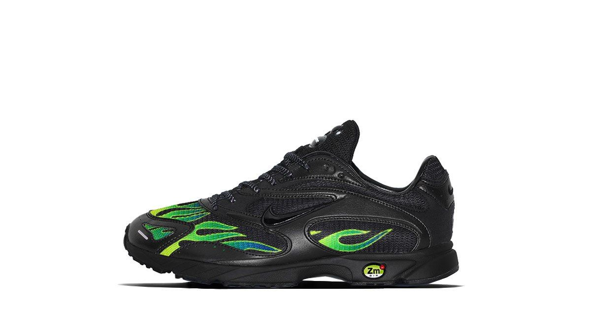 55b4a497cc21 Supreme x Nike Zoom Streak Spectrum Plus Release  14.06.2018 Colorway  Black