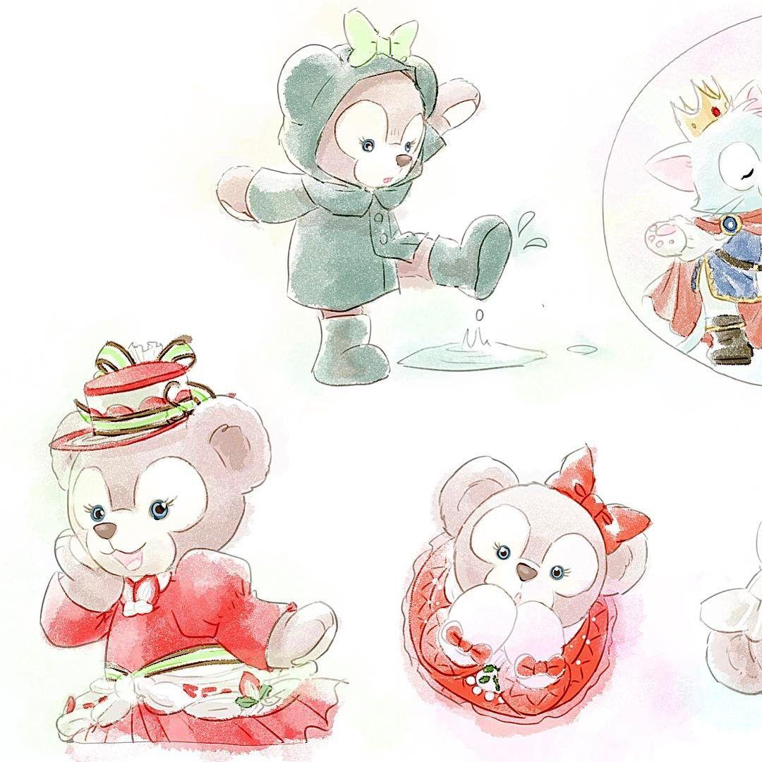 Pin by Vicky Wu on Disney | Pinterest | Duffy and Disney art