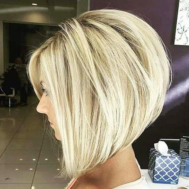 50 Inspirierte Bob Frisuren Blond In 2020 Bob Frisur Haarschnitt Bob Haarschnitt