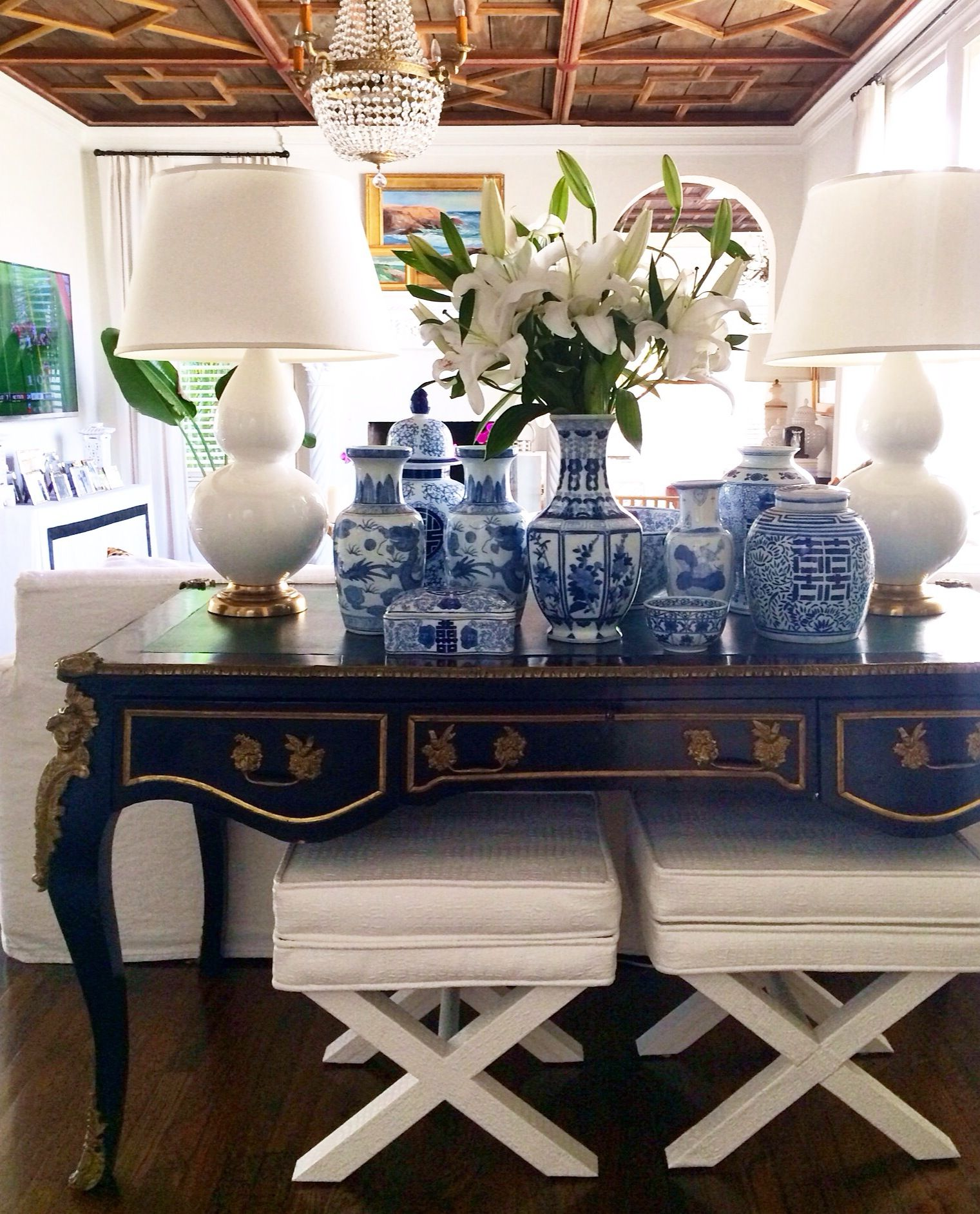25 Blue Dining Room Designs Decorating Ideas: Palm Beach Home Style: 5 Tips From Luxe Report Designs