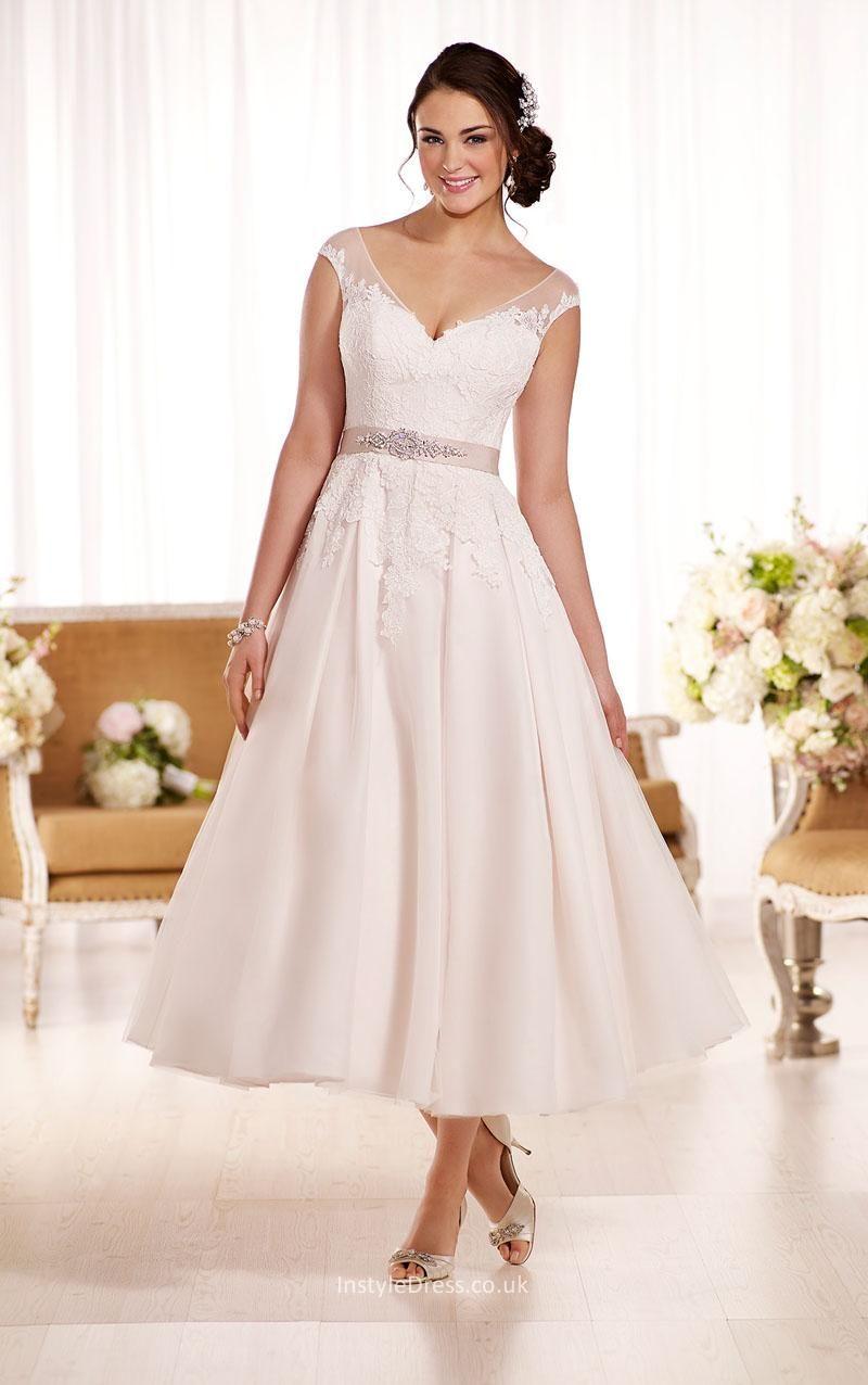 40 Modelos De Vestido De Noiva Simples Curto 2018 Wedding