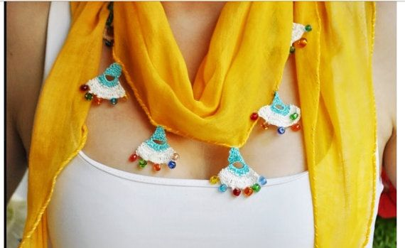Handmade scarf by Citipitishop on Etsy, $45.00