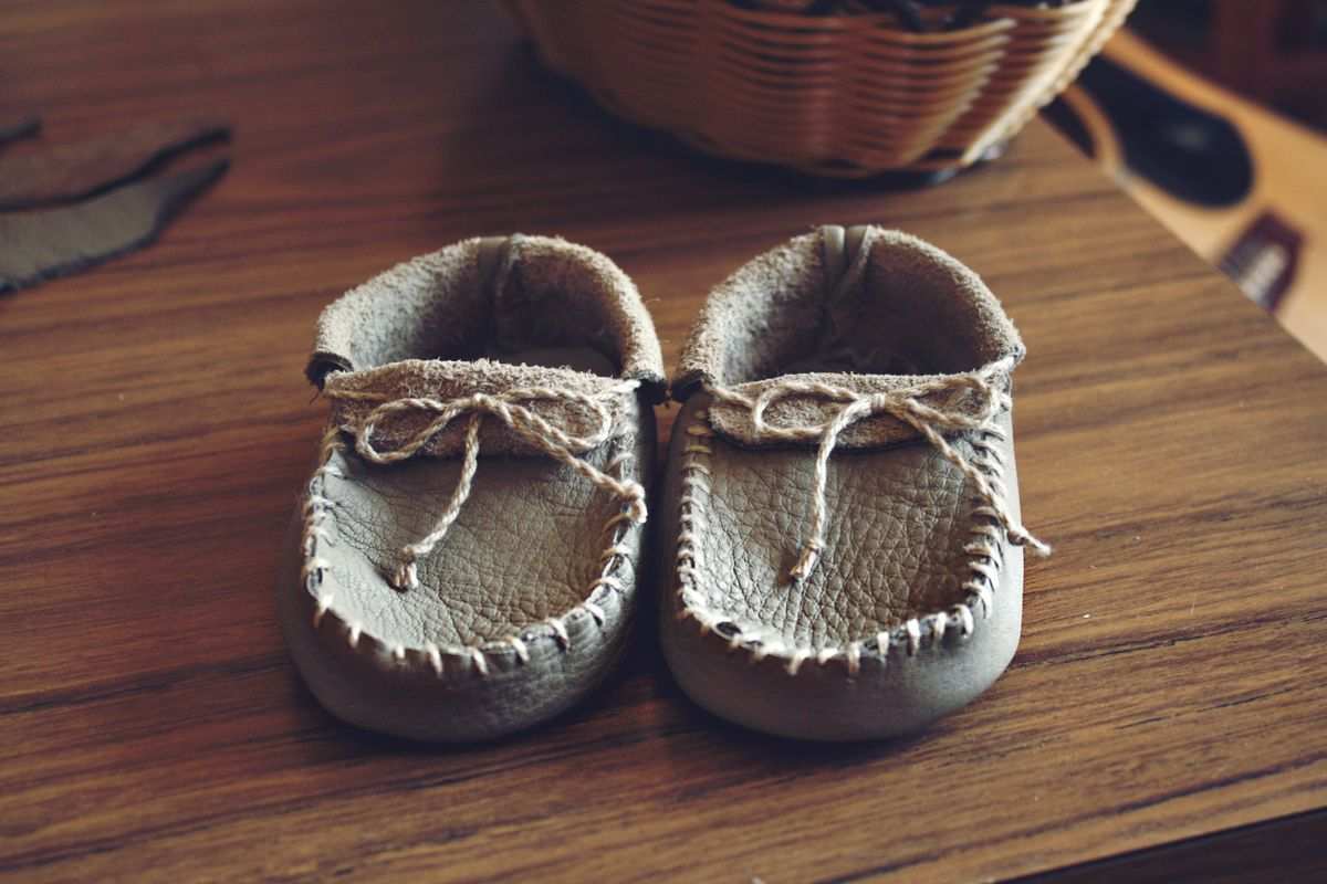 diy baby moccasin patterns | ... here and we\'ve finished the final ...