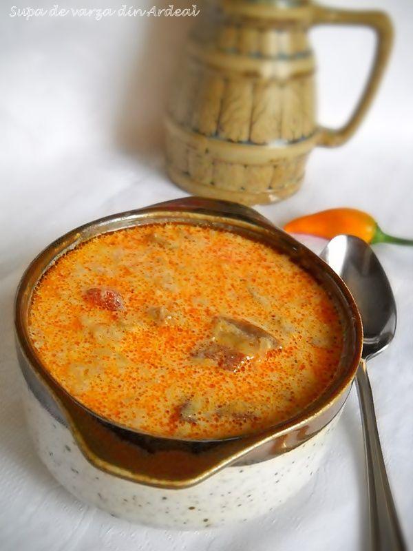 Supa De Varza Cu Afumatura Romanian Food Recipes Cooking Recipes