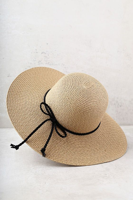 The island life is what the My Paradise Tan Floppy Straw Hat is all about!  Lounge poolside in this floppy woven hat with rounded top 3e3c57f81b00