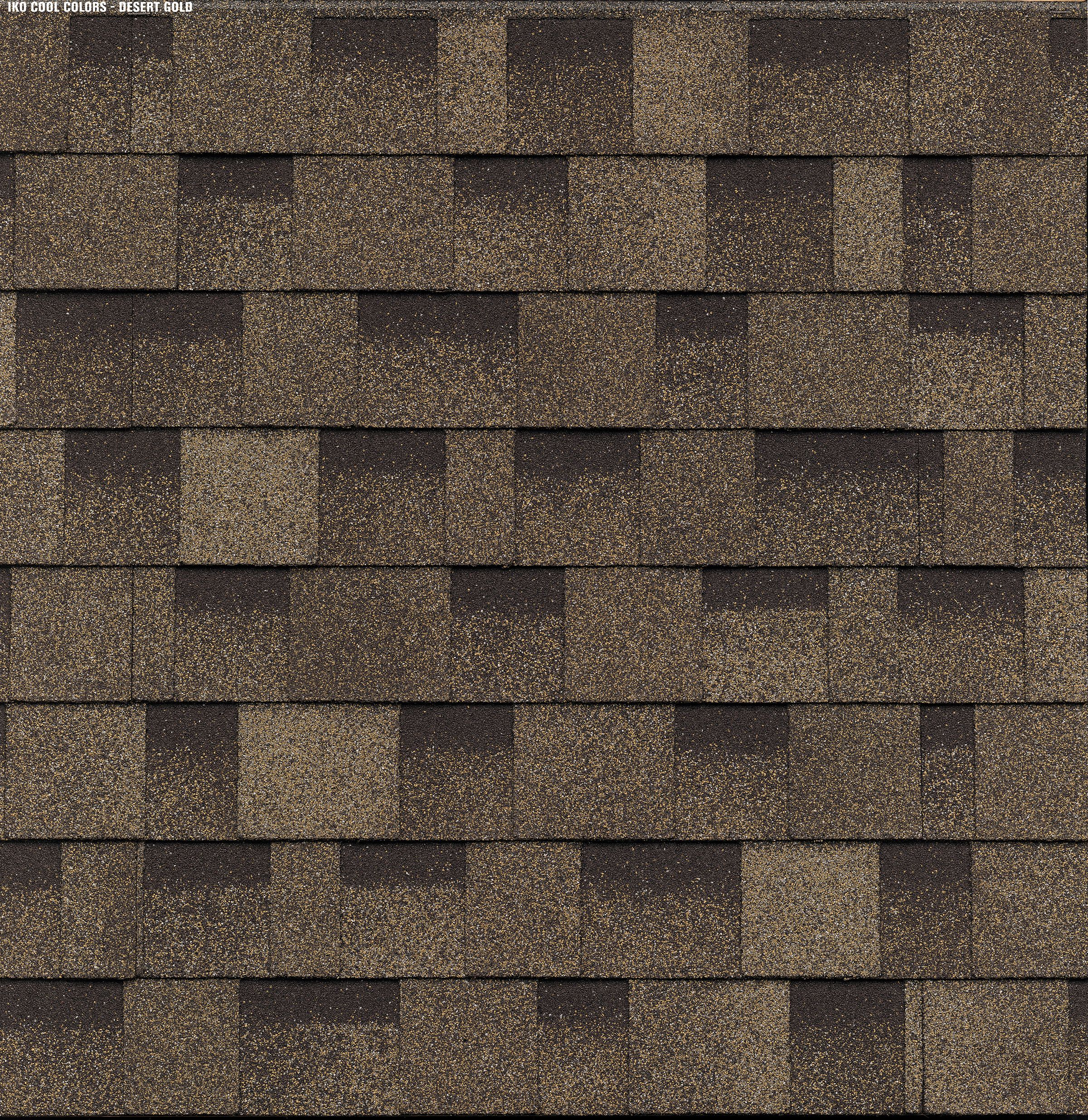 Iko Cambridge Cool Color Desert Gold Swatch In 2020 Shingling Cool Roof Residential Roofing Shingles
