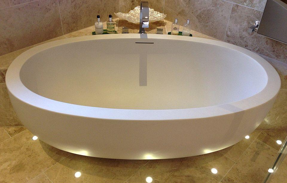 Adoni Luxury Small Stone Designer Bath