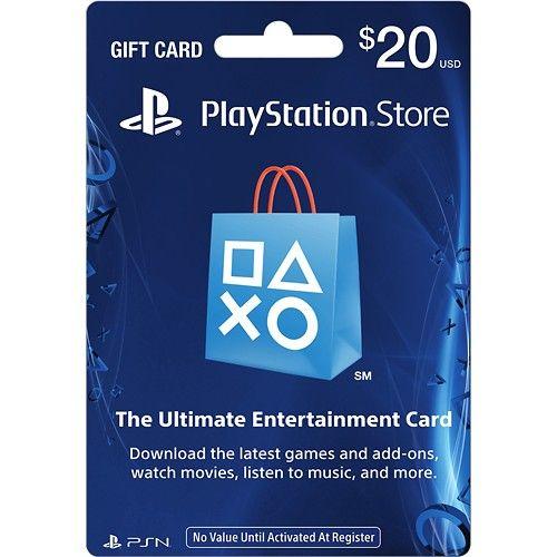 Sony - PlayStation Network $20 Gift Card | Wishlist | Gift