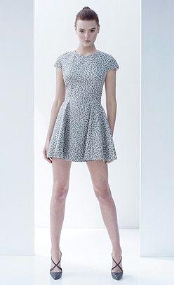 Lover Cheetah Leather Dress