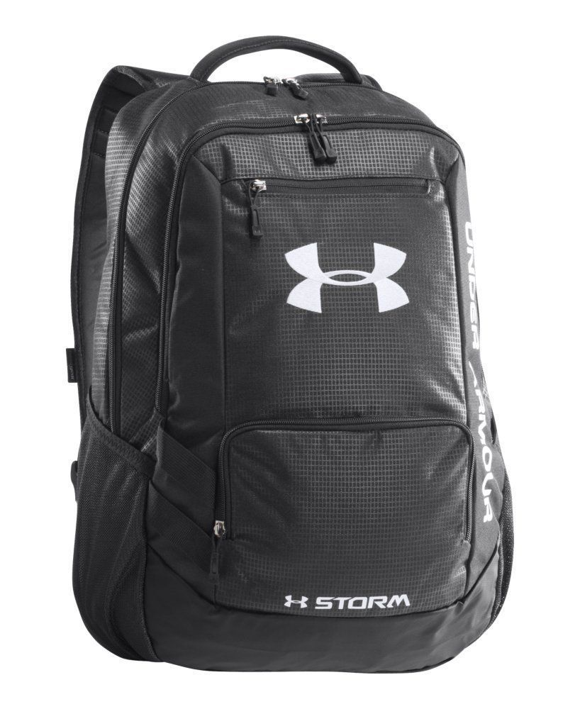 93f5e865fd Under Armour UA Hustle Storm Backpack Book Bag Rugged BACK TO SCHOOL   UnderArmour  Bookbag