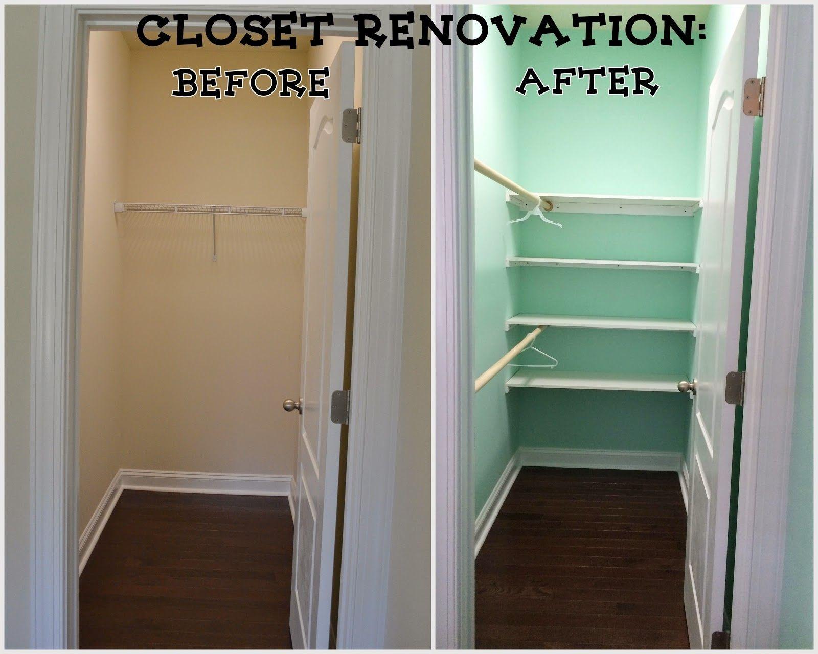 Long Narrow Closet Organization Narrow Closet