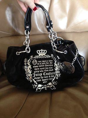 Juicy Couture Purse Fabulous Royal