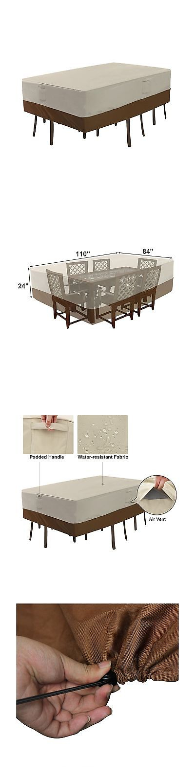 outdoor furniture covers waterproof. Contemporary Covers Outdoor Furniture Covers 177031 Songmics Patio Table And Chair Cover  Waterproof Recta On R
