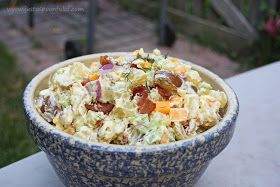 Just a Spoonful of: Cheddar Bacon Potato Salad