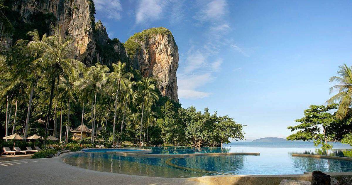 Boutique hotel rayavadee krabi thailand pool amerika for Boutique hotel krabi